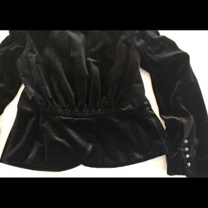 Juicy Couture Jackets & Coats - Juicy couture cropped velvet jacket